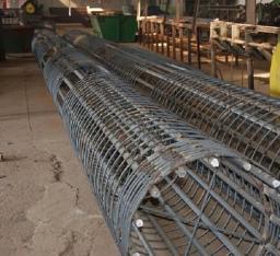 Арматурный каркас для гидротехнич строит-ва, 150мм