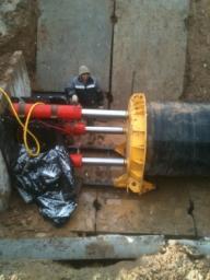 Бестраншейная прокладка трубопровода