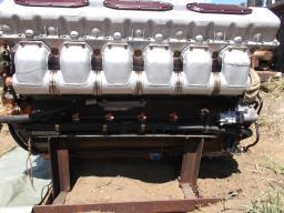 Дизельный двигатель В-84 МС.