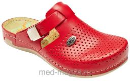 Обувь женская сабо Leon 950 Красные