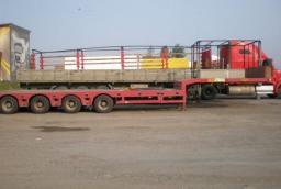 Прокат трала 9 метров 40 тонн