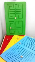 Комплект дидактических лабиринтов (в комплекте 4-е лабиринта)