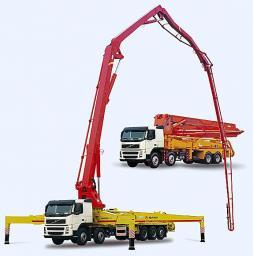 Аренда бетононасоса от 9 м до 65 м