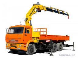 Аренда крана-манипулятора кузов от 4,8 м до 11,4 м