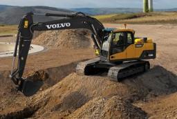 Аренда экскаватора Volvo 160В