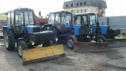 Аренда подметального трактора
