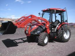 Аренда трактора TYM Tractors T433 (США) с кабиной