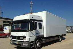 Аренда тентованного грузовика Mercedes-Benz Atego