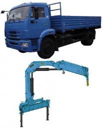 КАМАЗ 43253-6019-99 с КМУ ИМ-150