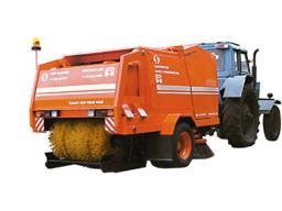 Прицеп тракторный подметально-уборочный