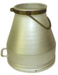 Ведро доильное, алюминиевое, 19л без крышки (РФ)
