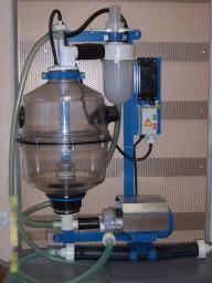 Молокоопорожнитель, 50 л, с БУН-2 (пластмассовый баллон)
