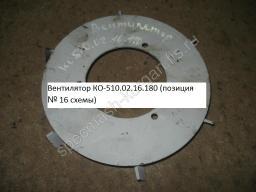 Вентилятор КО-510.02.16.180