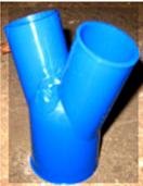 Тройник пластмассовый (У-образный)