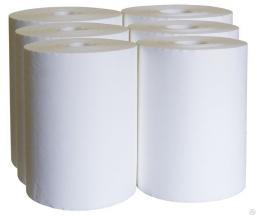 Салфетки бумажные крепированные для вымени 230х216 600 шт. в рулоне (по 6 шт. в упаковке)