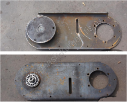 Плита цепной передачи с подшипником и фланцем приводным УМДУ-80 82.02.12.000 СБ
