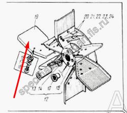 Лопасть ротора Д-902.14.00.008-А