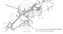 Гидроцилиндр подъема ДЗ-98В.43.03.000-1