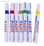Маркер краска paint по металлу и пр.,промышленный, цвета в ассортименте.