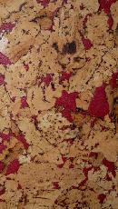 Пробковое покрытие для стен Corksribas Condor Red