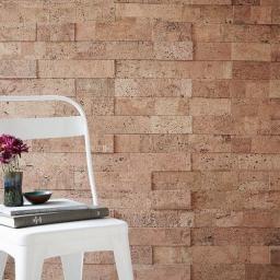 3D панели для стен Muratto Cork Bricks MUCBNAT01 Natural