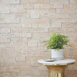 3D панели для стен Muratto Cork Bricks MUCBIVO01 Ivori