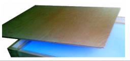 Крышка для планшета или песочницы 50*30см