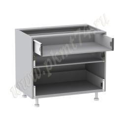 Корпус кухонного шкафа с ящиками без фасадов