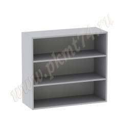 Корпус кухонного шкафа с полками, широкий