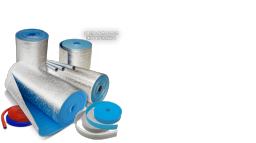 Рулоны ПЕНОФОЛ® 2000 тип C 03 в рулоне 18 кв м (фольга 100%)