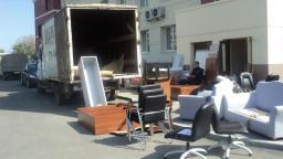 вывоз старой мебели на свалку