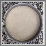 Песок кварцевый окатанный 0.1-0.63 в мешках по 25 кг