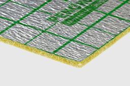 рулонный материал для теплого пола с разметкой Экофол 2 мм
