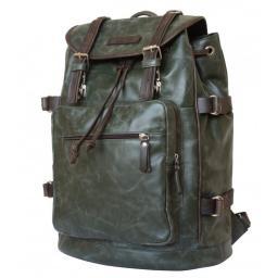 Кожаный рюкзак Carlo Gattini Militare Volturno green
