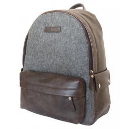 Кожаный рюкзак Carlo Gattini Sinfonica Fregona brown