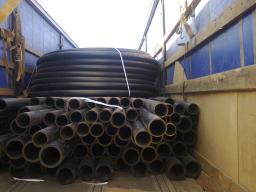 Труба полиэтиленовая ПНД техническая SDR 21 ду 160*7,7