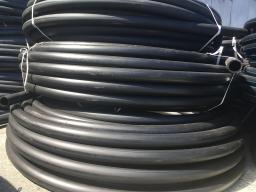 Труба водопроводная напорная из полиэтилена ПЭ 100 SDR26 PN 6,3 110х4,2мм