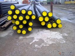 Труба ППУ ПЭ бесшовная труба сталь 09Г2С д= 76х3,5/140 мм