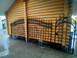 Ворота кованые в наличии