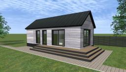 Строительство домов из сип панелей в Нижнем Новгороде. Проект