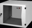 TWP-095465-G-GY серия PRACTIKALНастенный двухсекционный шкаф 19