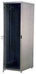 REC-6186LT-BK НапольныйШкаф телекоммуникационный серии Alpha, 18U, 878х600х600 мм, разборный, дверь со стеклом, чёрный