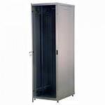 REC-6226OPНапольный Шкаф телекоммуникационный серии Alpha Optima, 22U, 1050х600х600 мм, разборный, дверь со стеклом