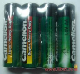 Э/п Camelion HEAVY DUTY Green R6/316 4S