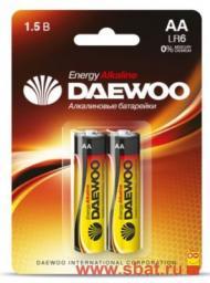 Элемент питания Daewoo Energy LR6/316 NEW BL2