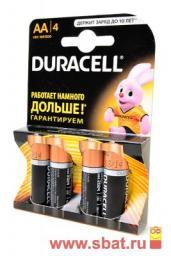 Э/п Duracell LR6/316 BL4