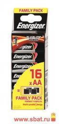 Э/п Energizer Alkaline Power LR6 BL16 FAMILY PACK