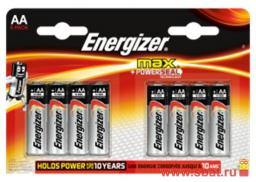Э/п Energizer MAX POWER SEAL LR6/316 BL8