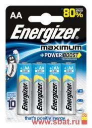 Э/п Energizer Maximum POWER BOOST LR6/316 BL4