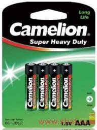 Э/п Camelion HEAVY DUTY Green R03/286 BL4